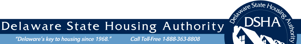 State of Delaware - Delaware State Housing Authority